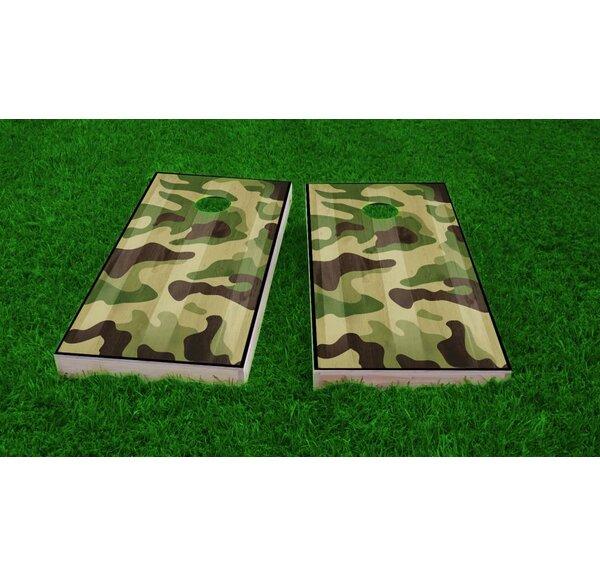 Hunting / Camo Cornhole Game Set by Custom Cornhole Boards