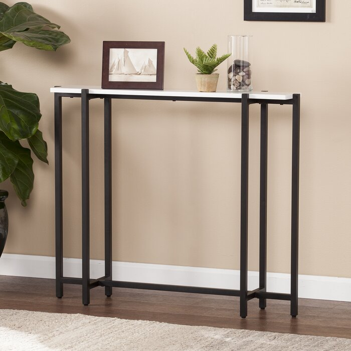 check out 3c2ad cd0d7 Jeske Contemporary Narrow Console Table