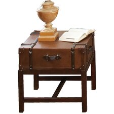 Delavan Suitcase End Table by Darby Home Co
