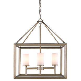 Thorne 4-Light Hanging Foyer Pendant by Three Posts