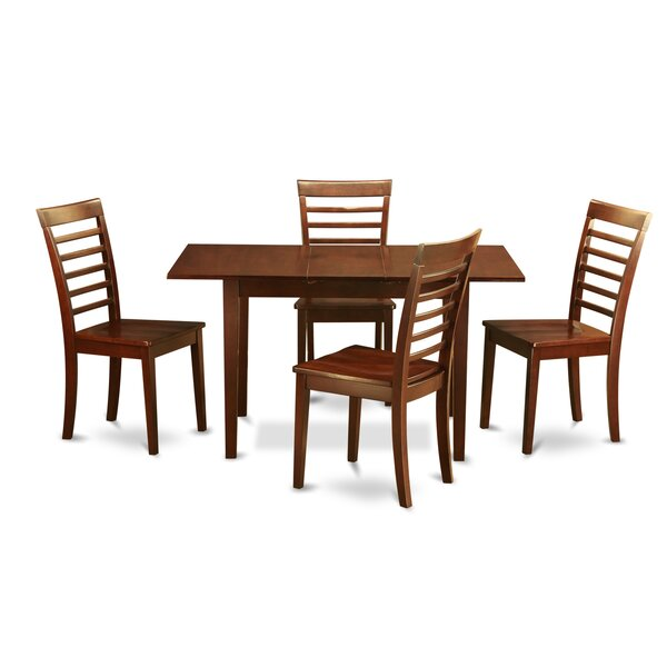 Balfor 5 Piece Extendable Dining Set by Andover Mills