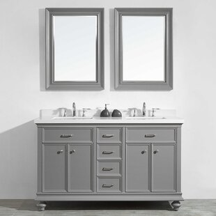 Great deal Weisner 60 Bathroom Vanity Set with Mirror ByAlcott Hill