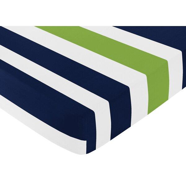 Stripe Fitted Crib Sheet by Sweet Jojo Designs