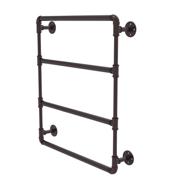 Pipeline 30 Wall Mounted Ladder Towel Bar by Allied Brass