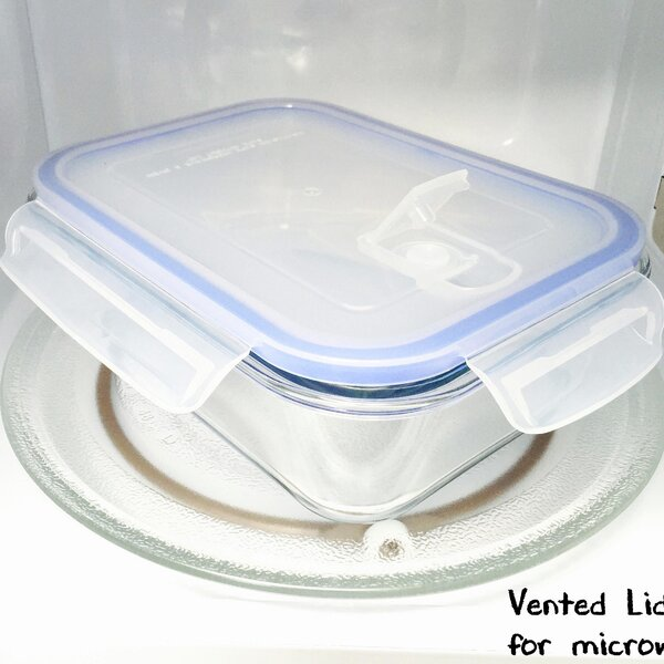 Go Green Glasslock Elements Rectangular 36 Oz. Food Storage Container by Kinetic