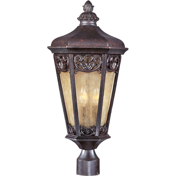 Wimbish Outdoor 3-Light Lantern Head by Fleur De Lis Living