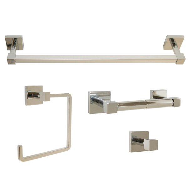 Karsen 4 Piece Bathroom Hardware Set by Design House