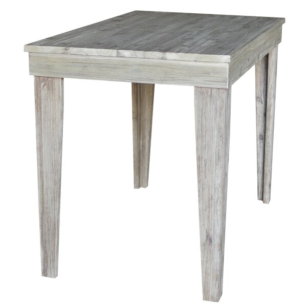 Galvin Solid Wood Counter Height Pub Table by Gracie Oaks