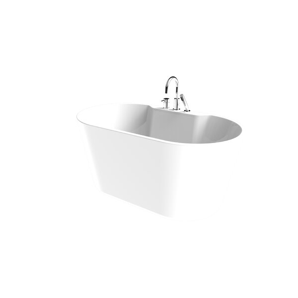 56 x 31 Freestanding Soaking Bathtub by A&E Bath and Shower