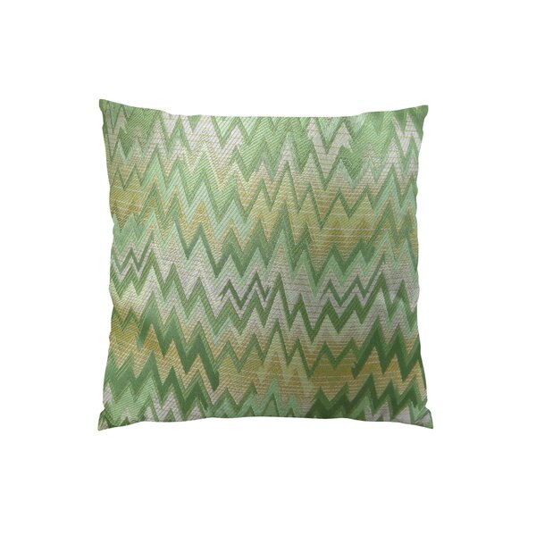 Peek Leaf Double Sided Throw Pillow by Plutus Brands