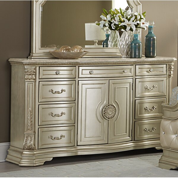 Daniela 9 Drawer Combo Dresser by Astoria Grand