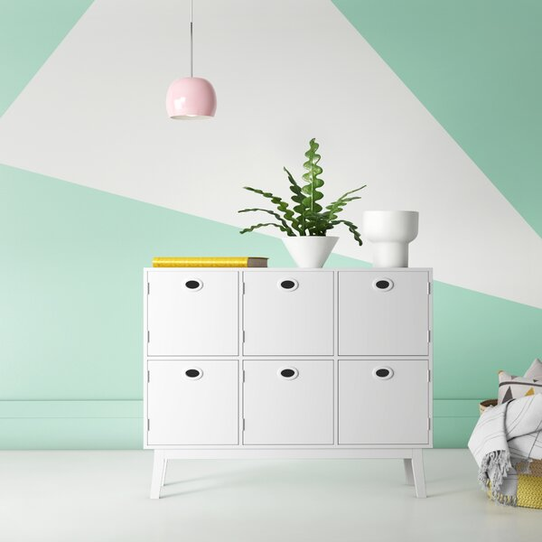 Tierney 6 Door Accent Chest by Hashtag Home