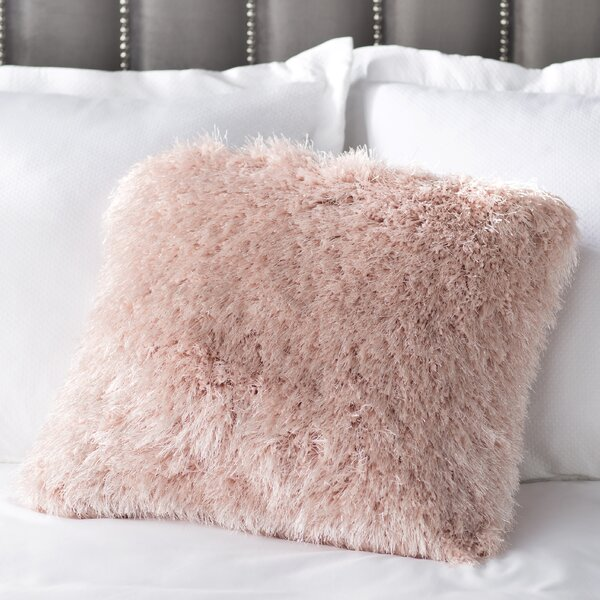 Bowyer Shag Throw Pillow by Willa Arlo Interiors