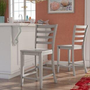 Rutledge Ladderback 24 Bar stool (Set of 2)