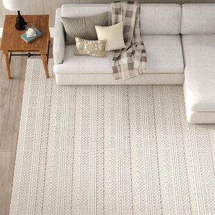 Jocelyn Parchment Hand-Woven Area Rug by Birch Lane™ Heritage