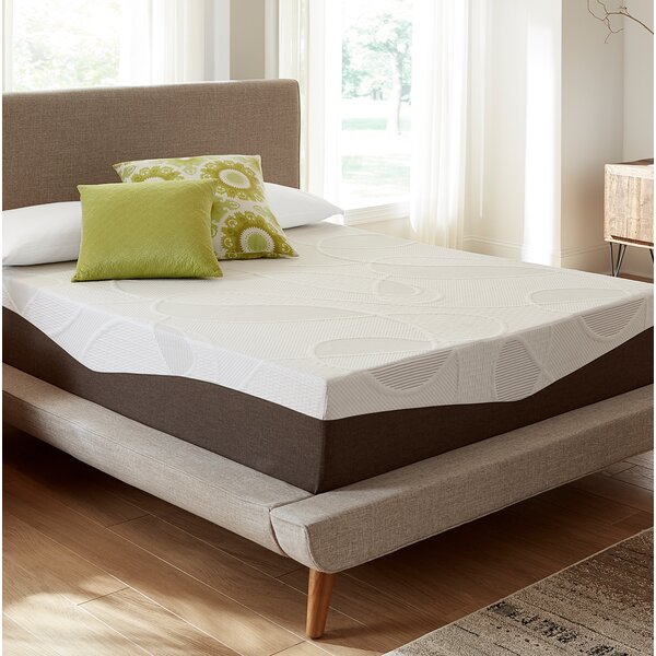 12 Medium Gel Memory Foam Mattress by Alwyn Home