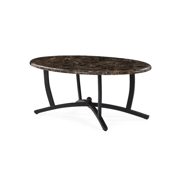 Murrell Leg Coffee Table by Winston Porter