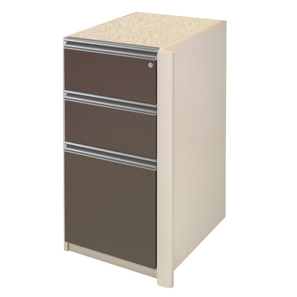 Karla 3-Drawer Pedestal by Latitude Run