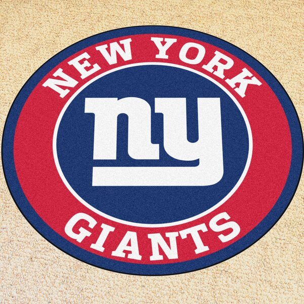 NFL New York Giants Roundel Mat by FANMATS
