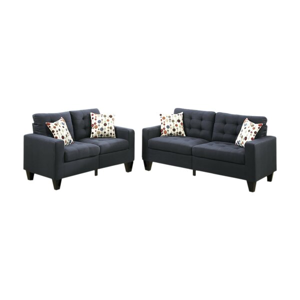 Gamache 2 Piece Living Room Set by Ebern Designs