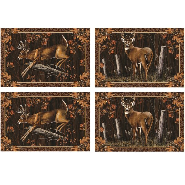Deer Placemat by River's Edge Products