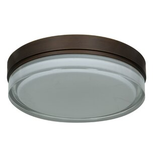 Price comparison Joiner 1-Light Outdoor Flush Mount By Orren Ellis
