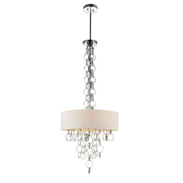 Bazan 4-Light Chandelier By House Of Hampton