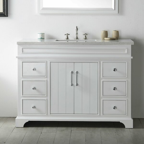 Agustina 48 Single Bathroom Vanity Set by Gracie Oaks