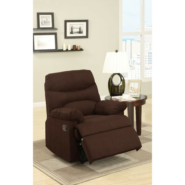 Pardue Plush Manual Recliner by Winston Porter