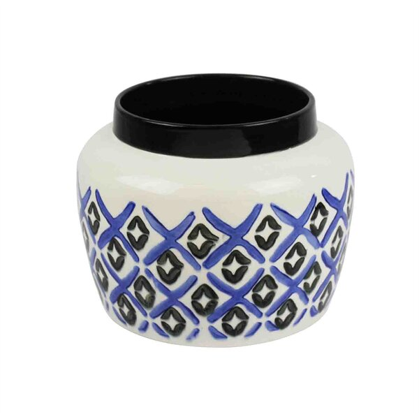 Mebane Alluring Ceramic Pot Planter by Bloomsbury Market