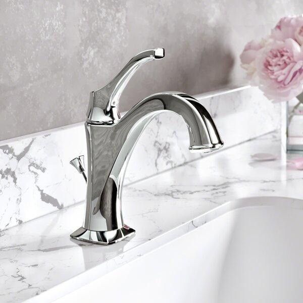 Giancarlo Single Hole Bathroom Faucet with Drain A