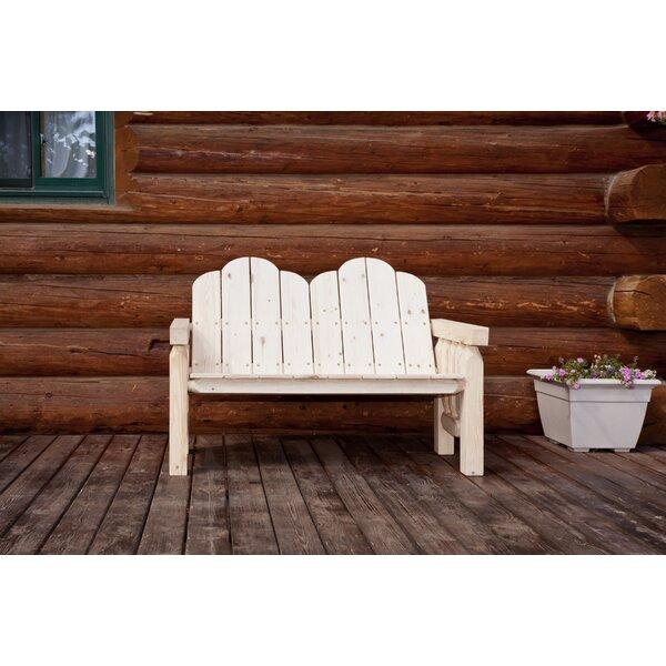 Abella Deck Wood Bench by Loon Peak