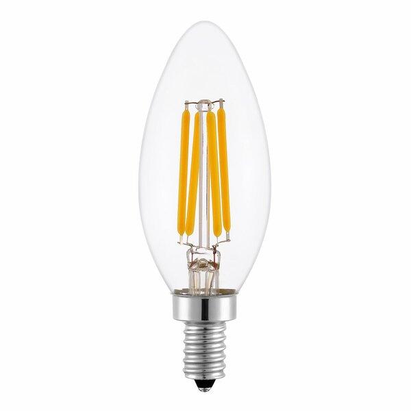 4W E12 LED Vintage Filament Light Bulb by Aspen Brands