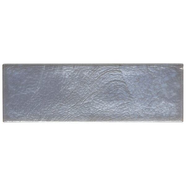 Williamsburg 2 x 8 Glass Block Tile in Moonlight by Itona Tile