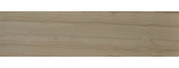 Yves Rocard 6 x 24 Marble Wood Look/Field Tile in Brown by The Bella Collection
