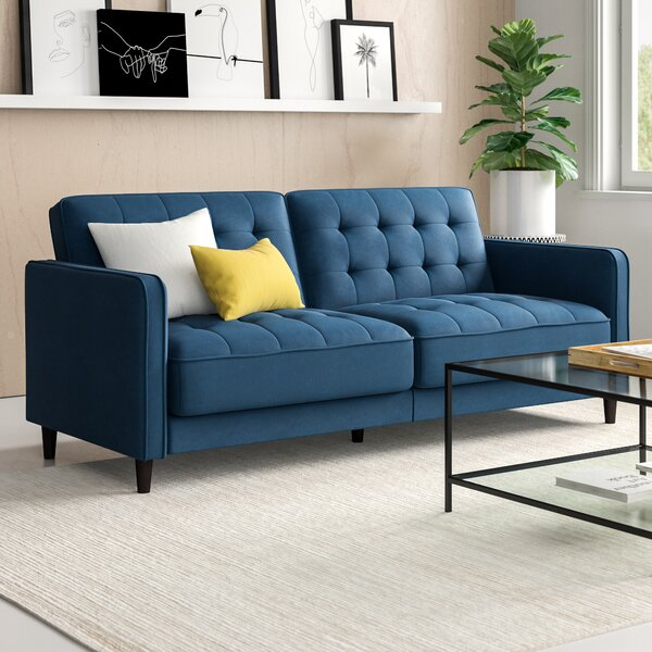 Pepperell Sleeper Sofa Bed by Zipcode Design