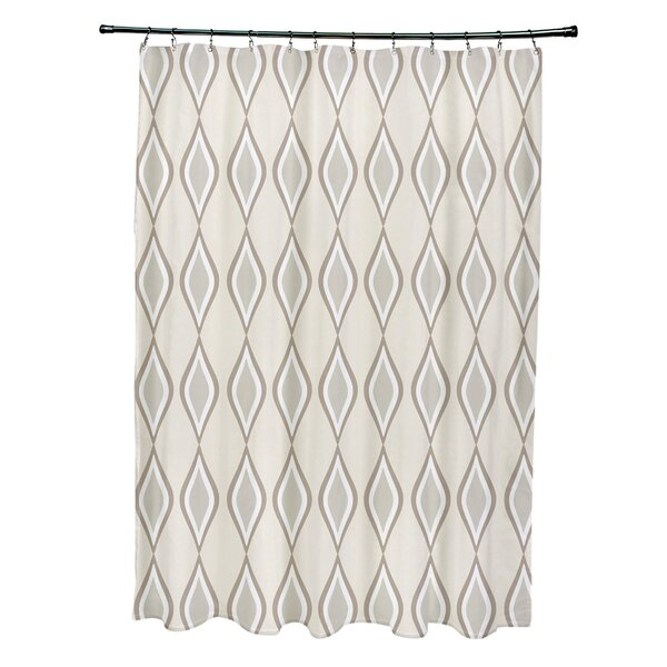 Diamond Shower Curtain by e by design