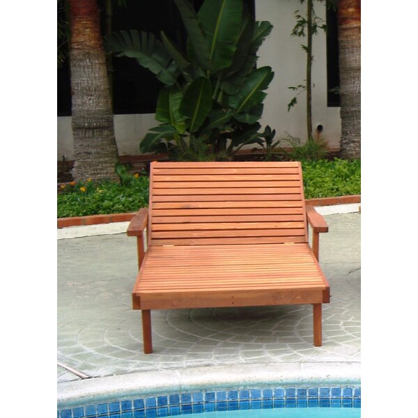 Thibeault Rustic Chaise Lounge