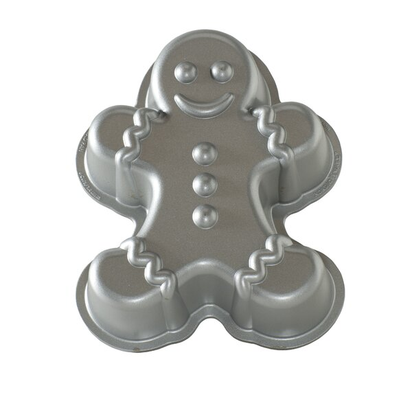 Gingerbread Man Cake Pan by The Holiday Aisle