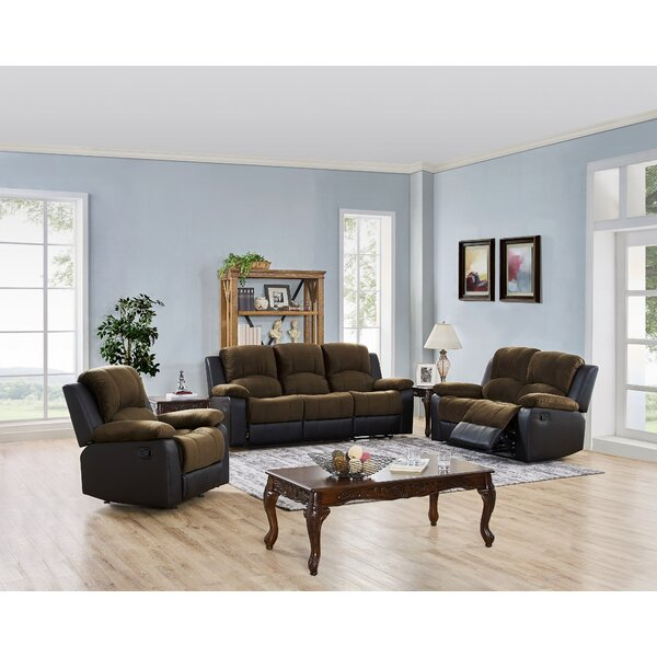 Estabrook 3 Piece Reclining Living Room Set by Winston Porter