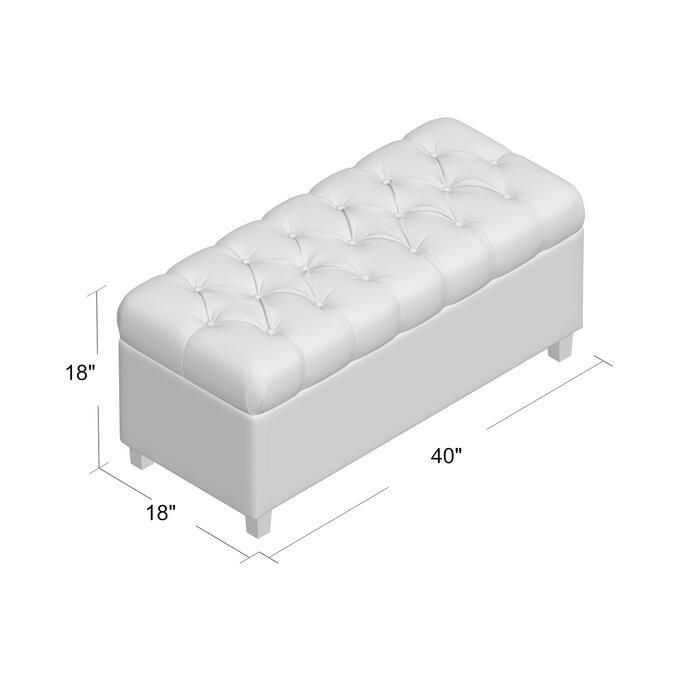 Superb Ranshaw Upholstered Flip Top Storage Bench Inzonedesignstudio Interior Chair Design Inzonedesignstudiocom