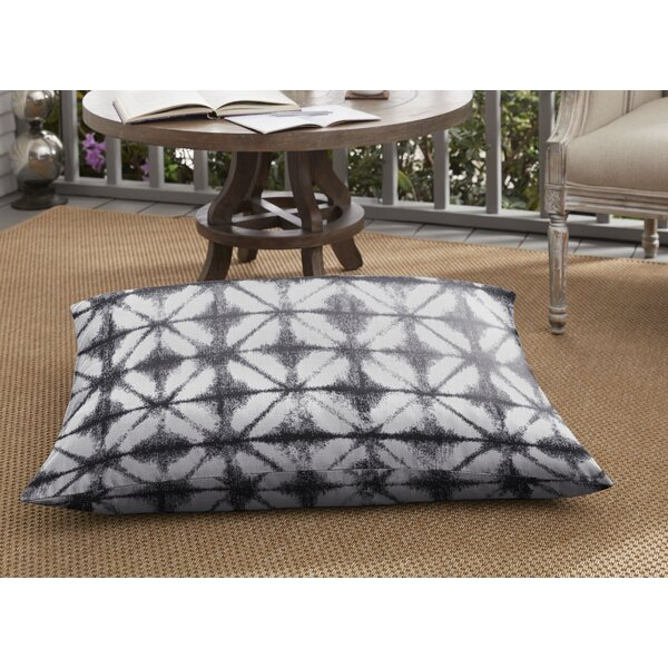 Keanu Indoor/Outdoor Floor Pillow by Bungalow Rose
