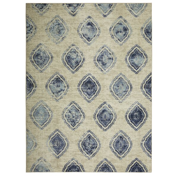 Trahan Blue Area Rug by Bungalow Rose