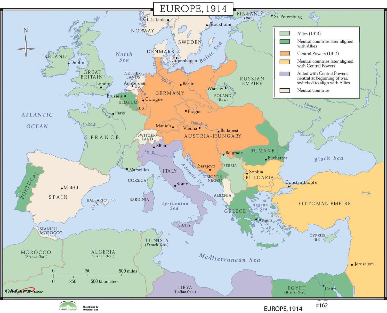 Universal Map World History Wall Maps Europe Wayfair - Historical wall maps
