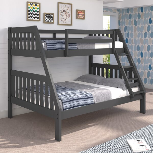 Mission Twin Over Full Bunk Bed by Chelsea Home
