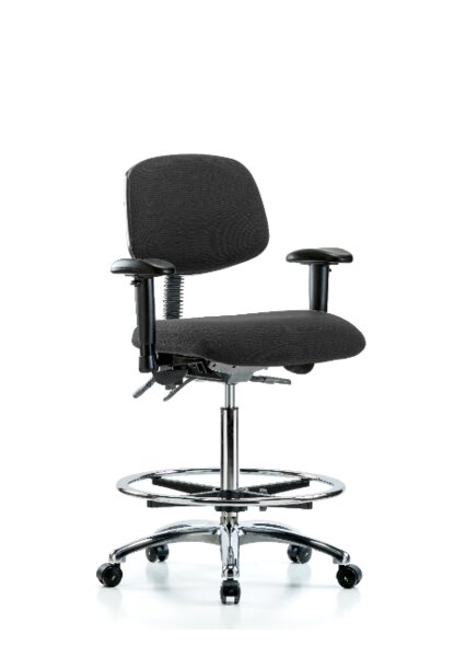 Mireya High Bench Ergonomic Office Chair by Symple Stuff
