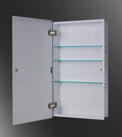 Adan 18 x 42 Recessed Medicine Cabinet by Ebern Designs