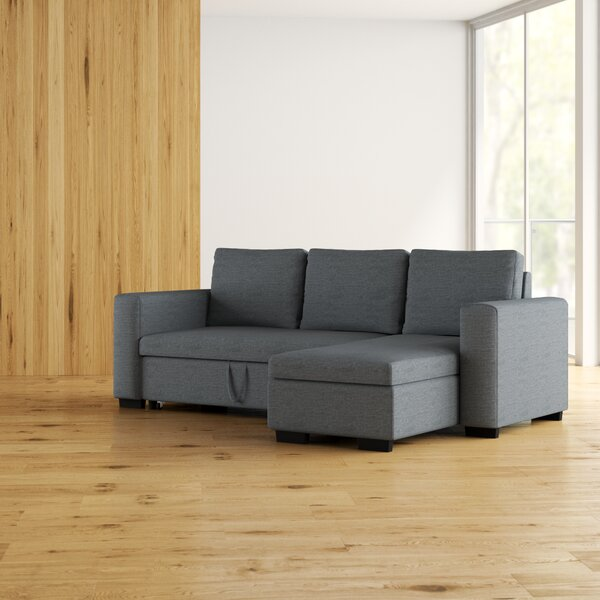 Venters Convertible Sleeper Sectional by Latitude Run