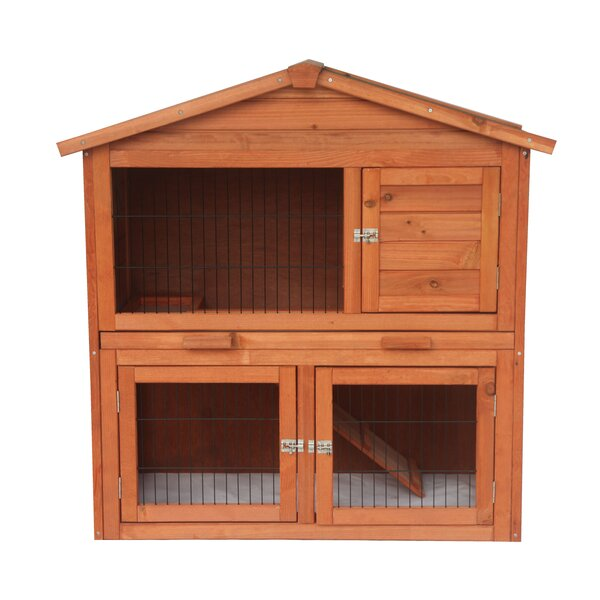 Melvin Wooden Pet House Poultry Hutch Chicken Coop by Tucker Murphy Pet