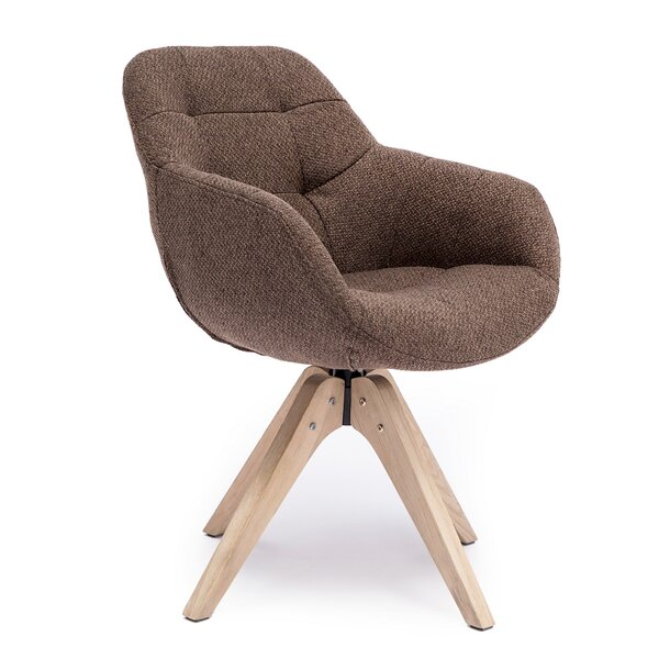 Giacchetto Swivel Armchair by Brayden Studio Brayden Studio